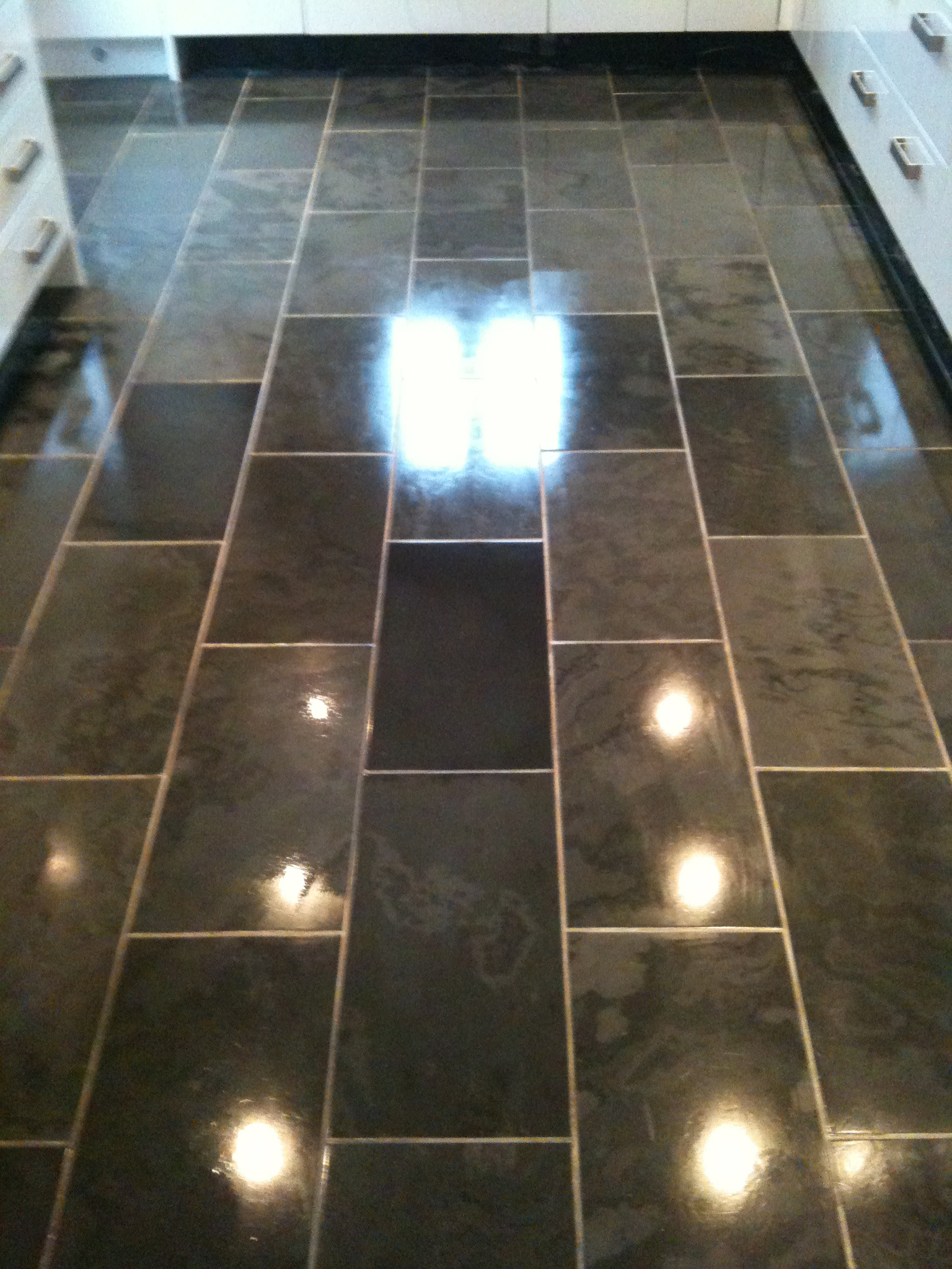 Quarry, Sandstone & Slate Tiles Commercial Floor Cleaning
