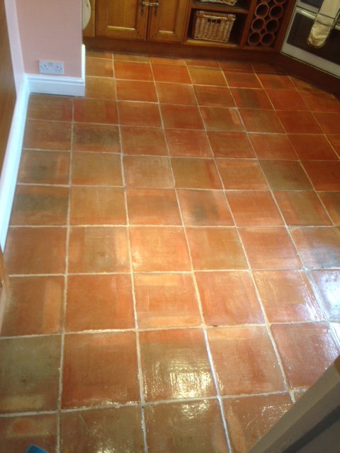 Terracotta Commercial Floor Cleaning